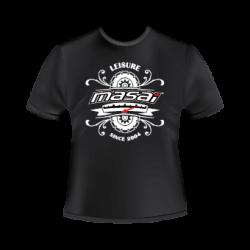 T-Shirt noir Masai